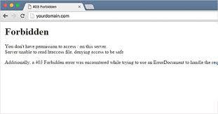 Error 403 (Access Denied) !! 1