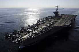 US aircraft carrier Abraham Lincoln passed the Suez Canal